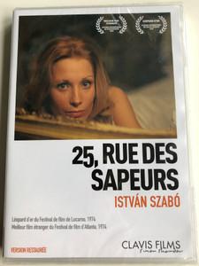 25, Rue des Sapeurs DVD 1973 Tűzoltó utca 25 / Directed by István Szabó / Starring: Lucyna Winnicka, Margit Makay, Bálint András, Zelk Zoltán / French release (3700246907459)