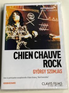 Kopaszkutya DVD 1981 Chien Chauve Rock (Bald Dog) / Directed by Szomjas György / Starring: Lóránt Schuszter, Földes László, Deák Bill Gyula, Póka Egon (3700246907503)