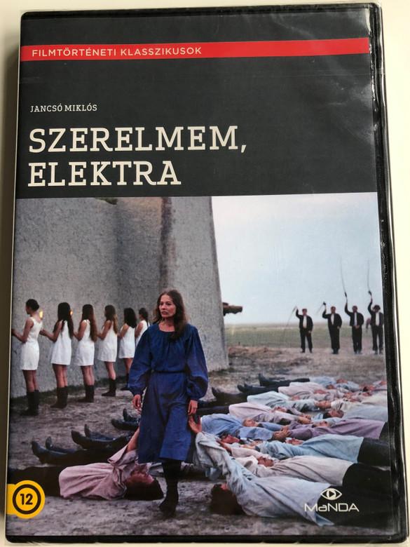 Szerelmem, Elektra DVD 1974 Electra, My Love / Directed by Jancsó Miklós / Starring: Törőcsik Mari, Cserhalmi György, Madaras József, Balázsovits Lajos (5999884681632)