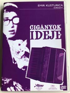 Cigányok ideje DVD 1988 Dom za vesanje / Directed by Emir Kusturica / Starring: Davor Dujmovic, Bora Todorovic, Ljubica Adzovic (5999881767681)