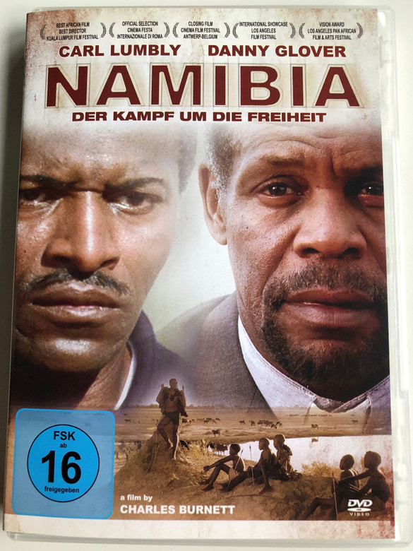 Namibia Der Kampf um die Freiheit DVD 2007 Namibia: The Struggle for Liberation / Directed by Charles Burnett / Starring: Carl Lumbly, Danny Glover, Chrisjan Appollus, Lazarus Jacobs / German edition (4260157715110)