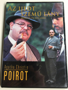 Agatha Christie Poirot - Murder on the Links DVD 1996 Az Ijedt szemű lány / Directed by Andrew Grieve / Starring: David Suchet, Hugh Fraser, Bill Moody, Damien Thomas (5999546330847)