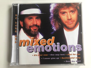 Mixed Emotions ‎– The Best Of / It's Over Now, One Way Love, Just For You, I Never Give Up, Sentimental Song, Over The Limit / Disky Audio CD 1996 / DC 871102