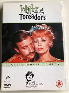 Waltz of the Toreadors DVD 1962 Classic Movie comedy - The Peter Sellers Collection / Directed by John Guillermin / Starring: Peter Sellers, Dany Robin, John Fraser, Cyril Cusack (5037115035936)