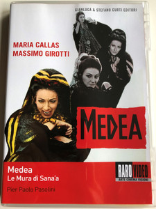 Medea - Le Mura di Sana'a DVD 1969 The Walls of Sana'a / Directed by Pier Paolo Pasolini / Starring: Maria Callas, Massimo Girotti (8019547400060)