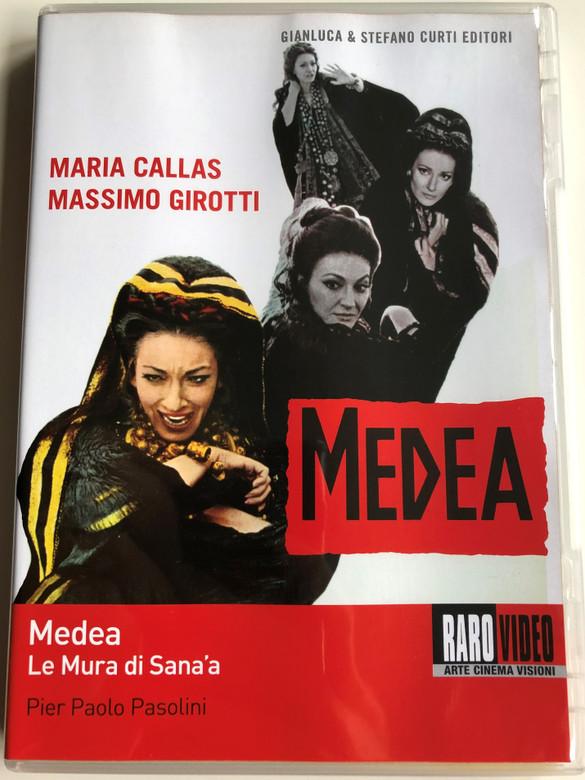 Medea - Le Mura di Sana'a DVD 1969 The Walls of Sana'a / Directed by Pier Paolo Pasolini / Starring: Maria Callas, Massimo Girotti (8019547400060)