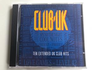 Club UK - Ten Extended UK Club Hits / Old Gold Audio CD 1990 / OG 3801