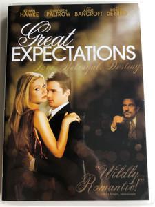 Great Expectations DVD 1998 Love. Betrayal. Destiny / Directed by Alfonso Cuarón / Starring: Ethan Hawke, Gwyneth Paltrow, Anne Bancroft, Robert De Niro (02454300133180)