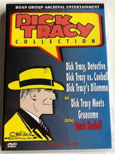Dick Tracy Collection DVD 2 Disc Set / Dick Tracy vs Cueball, Dilemma - Dick Tracy Meets Gruesome / Starring: Boris Karloff / Roan AED-2012 (785604201229)