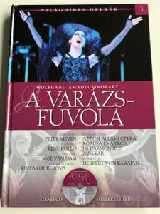 Wolfgang Amadeus Mozart - A Varázsfuvola by Alberto Szpunberg / Vienna State Opera Chorus & Orchestra / Conducted by Herbert von Karajan / With Audio CD / Világhíres Operák sorozat 3. / Hardcover / Kossuth kiadó 2011 (9789630968508)