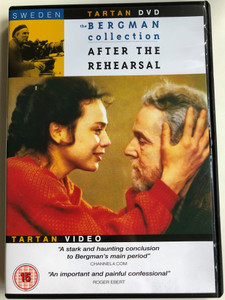 After the Rehearsal DVD 1984 Efter repetitionen - The Bergman Collection / Directed by Ingmar Bergman / Starring: Liv Ullmann, Erland Josephson, Lena Olin / Tartan Video (5023965337320)