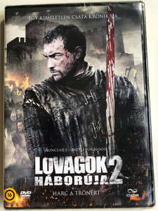 Ironclad 2 - Battle for blood DVD 2014 Lovagok háborúja 2 - Harc a trónért / Directed by Jonathan English / Starring: Roxanne McKee, Michelle Fairley, Danny Webb (5996471001071)