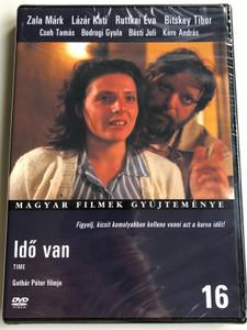 Idő van DVD 1985 Time / Directed by Gothár Péter / Starring: Zala Márk, Lázár Kati, Ruttkai Évva, Cseh Tamás, Kern András / Magyar Filmek Gyűjteménye 16 (5999546331202)