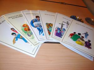 French Children's Bible Story Book about JESUS VOLUME 1-6 / Francais Bonnes nouvelles Livret 1-6