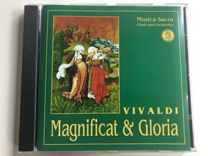 Vivaldi - Magnificat & Gloria / Musica Sacra Choir And Orchestra / Allegro Audio CD 1998 Stereo / MZA-032