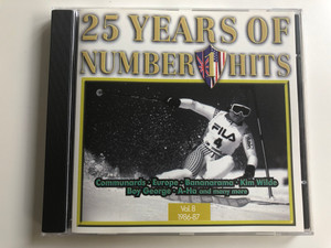 25 Years Of Number 1 Hits - Vol. 8 (1986-87) / Connoisseur Collection ‎Audio CD 1996 / WONE CD 08