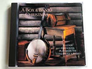 A Box & Banjo Christmas / Yuletide Favourites Played On The Concertina & Banjo / Hallmark Audio CD 1996 / 305422