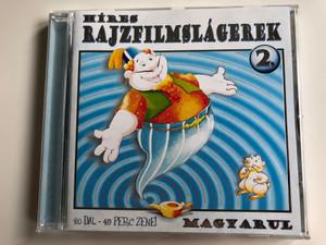 Hires Rajzfilmslagerek 2. / 20 Dal-45 Perc Zene! / Magyarul / Zeneker Kft. Audio CD / ZK 0503 CD