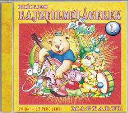 Híres Rajzfilmslágerek Magyarul, Vol. 1 (A Legnépszerűbb Rajzfilmek Betétdalai) / 20 Dal - 52 Perc Zene! / Zeneker Kft. Audio CD / ZK 0502 CD / Hungarian Cartoon Sound Track of Popular Children's Movies
