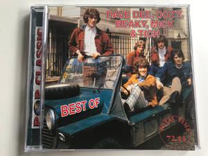 Dave Dee, Dozy, Beaky, Mick & Tich - Best Of / Pop Classic / Euroton Audio CD / EUCD-0078