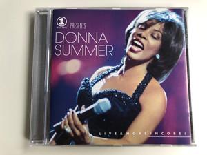 VH1 Presents Live & More Encore! - Donna Summer / Epic Audio CD 1999 / EPC 494532 2