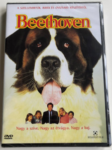 Beethoven DVD 1992 Beethoven / Directed by Brian Levant / Starring: Charles Grodin, Bonnie Hunt, Dean Jones (5999544253520)