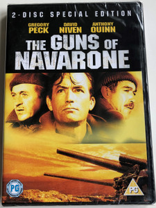 The Guns of Navarone 1961 2DVD 2-Disc Special Edition / Directed by J. Lee Thompson / Starring: Gregory Peck, David Niven, Anthony Quinn, Stanley Baker (5035822001091)
