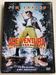 Ace Ventura 2 - When Nature Calls DVD 1995 Ace Ventura - Hív a természet / Directed by Steve Oedekerk / Starring: Jim Carrey, Ian McNeice, Simon Callow, Maynard Eziashi (5999010440683)