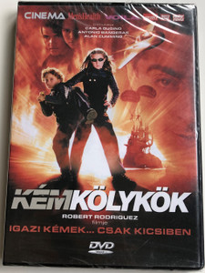 Spy Kid DVD 2001 Kém kölyök / Directed by Robert Rodriguez / Starring: Antonio Banderas, Carla Gugino, Alan Cumming, Teri Hatcher, Cheech Marin (SpyKidDVD)