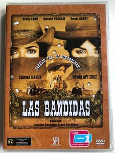 Bandidas DVD 2006 Las Bandidas / Directed by Joachim Rønning, Espen Sandberg / Starring: Salma Hayek, Penélope Cruz, Steve Zahn, Sam Shepard, Dwight Yoakam (5999544151789)