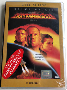Armageddon DVD 1998 / Directed by Michael Bay / Starring: Billy Bob Thornton, Liv Tyler, Ben Affleck, Will Patton, Bruce Willis (5996255707137)