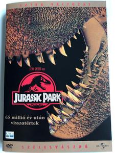 Jurassic Park DVD 1993 / Directed by Steven Spielberg / Starring: Sam Neill, Laura Dern, Jeff Goldblum, Richard Attenborough (5999010445282)