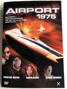 Airport 1975 DVD 1974 / Directed by Jack Smight / Starring: Charlton Heston, Karen Black, George Kennedy, Gloria Swanson, Efrem Zimbalist Jr., Susan Clark (5999544254411)