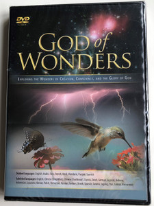 God of Wonders DVD Exploring The Wonders of Creation, Human Conscience and the Glory of God / Directed by Jim Tetlow / (026297901134)
