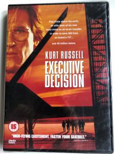 Executive Decision DVD 1996 / Directed by Stuart Baird / Starring: Kurt Russel, Halle Berry John Leguizamo, David Suchet, Steven Seagal (7321900142113)