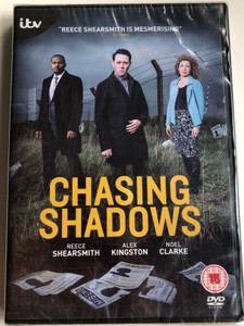 Chasing Shadows DVD 2014 / Directed by Chris Menaul, Jim O'hanlon / Starring: Reece Shearsmith, Alex Kingston, Noel Clarke / TV series (5037115363039)
