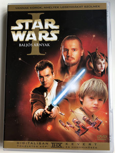 Star Wars: Episode I - The Phantom Menace 2x DVD 1999 Star Wars I - Baljós Árnyak / Directed by George Lucas / Starring: Liam Neeson, Ewan McGregor, Natalie Portman (599255707588)