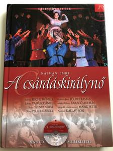 Kálmán Imre - A csárdáskirálynő by Gajdó Tamás / With Audio CD / Világhíres Operák sorozat 1. / Hardcover / Kossuth kiadó 2013 (9789630974592)