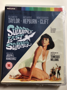 Suddenly, last summer BluRay Disc 1959 / Directed by Joseph L. Mankiewicz / Starring: Elizabeth Taylor, Katharine Hepburn, Montgomery Clift (5037899071441)