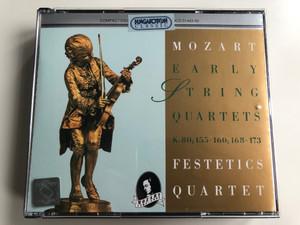 Mozart - Early String Quartets K.80, 155 -160, 168 - 173 / Festetics Quartet / Hungaroton 3x Audio CD 1995 Stereo / HCD 31443-45