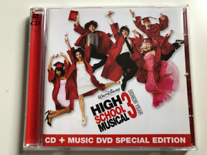 High School Musical 3: Senior Year / Walt Disney Records Audio CD + DVD CD, Special Edition 2008 / 5099923697829