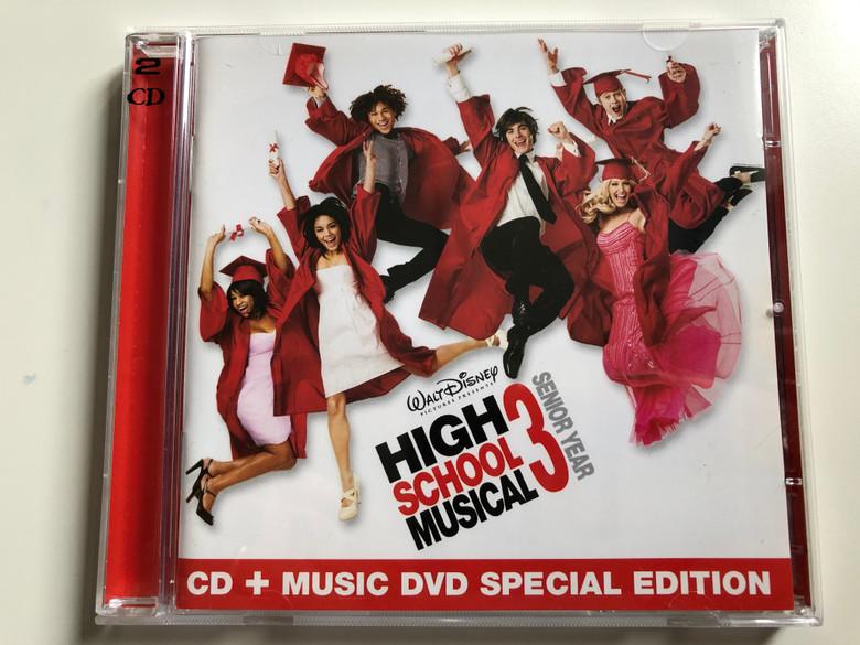 High School Musical 3: Senior Year / Walt Disney Records Audio CD + DVD CD, Special Edition 2008 / 5099923697829