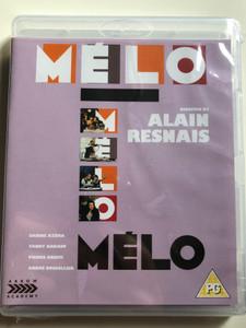 Mélo Blu Ray Disc 1986 / Directed by Alain Resnais / Starring: Fanny Ardant, André Dussollier, Sabine Azéma (5027035020396)