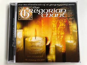 The Brotherhood Of St. Gregory Perform: The Gregorian Chant / Sanctus, Gloria, Credo, Hosanna, Recessional, and many more / Going For A Song Audio CD / GFS429