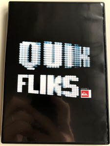 QuikFliks volume 1 DVD Quiksilver pro France 05, Quiksilver Bowlriders 05, Danny Way China, Quiksilver Sk8 / Two hours of surfing, skateboarding and snowboarding action (QuikFliksDVD)