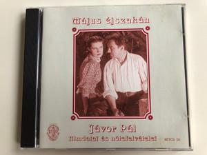 Május Éjszakán - Jávor Pál Filmdalai És Nótafelvételei / Rózsavölgyi És Társa Audio CD 2002 Mono / RÉTCD 20