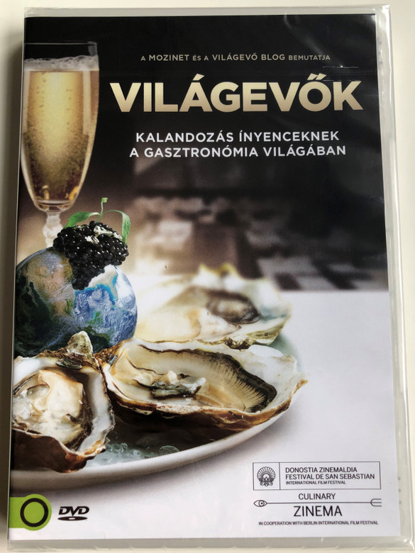 Foodies DVD 2014 Világevők / Directed by Charlotte Landelius, Henrik Stockare, Thomas Jackson / Narrated by Adrian Moar / A documentary on the fine dining subculture of foodies (5999546337655)