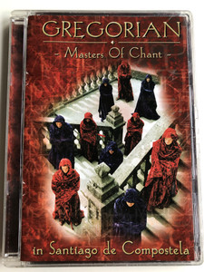Gregorian - Masters of Chant DVD 2001 in Santiago de Compostela / Gregorian versions of popular songs / Edel records (4009880588932)