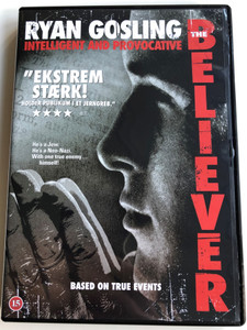 The Believer DVD 2001 / Directed by Henry Bean / Starring: Ryan Gosling, Billy Zane, Theresa Russell, Summer Phoenix (5706102354687)