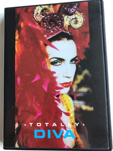 Annie Lennox - Totally Diva DVD 1992 / Directed by Sophie Muller / Legend in my living room, Precious, Cold, Primitive, Walking on broken glass / An oil factory production (743216119622)